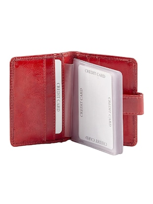 red leather wallet - 15032684 - Standard Image - 3