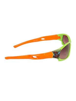 green polycarbonate sunglass - 15041906 - Standard Image - 3