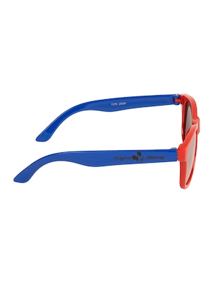 red polycarbonate sunglass - 15041914 - Standard Image - 3