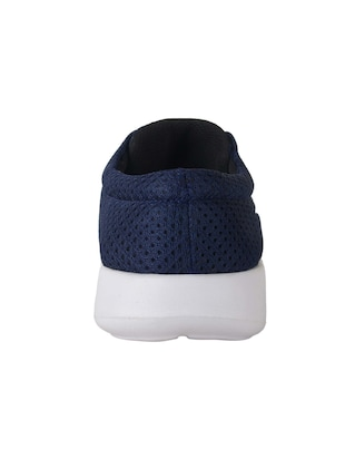 navy mesh sport shoes - 15073206 - Standard Image - 3