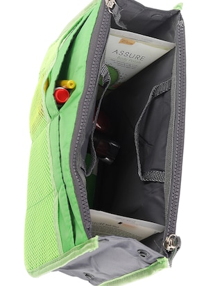 green polyester utility bag - 15083653 - Standard Image - 3