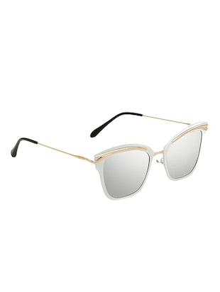 Cat-Eye Unisex Sunglasses Twin-Beam Frame - 15110900 - Standard Image - 3