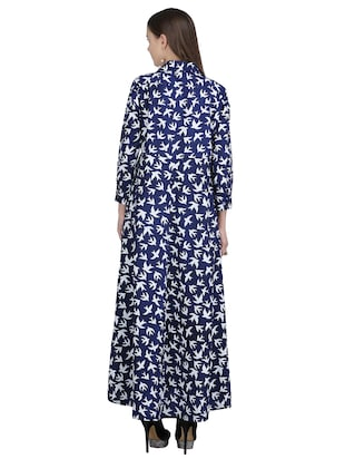button down pleated maxi dress - 15113269 - Standard Image - 3