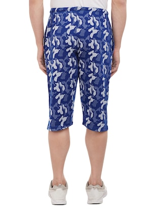 blue cotton three  fourths - 15113874 - Standard Image - 3