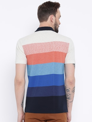 multi colored cotton pocket t-shirt - 15119073 - Standard Image - 3