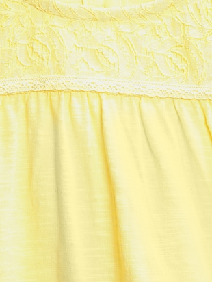 yellow cotton top - 15122669 - Standard Image - 3