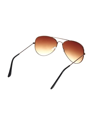 Zyaden Brown Aviator Sunglasses ( AV-22 ) - 15127552 - Standard Image - 3