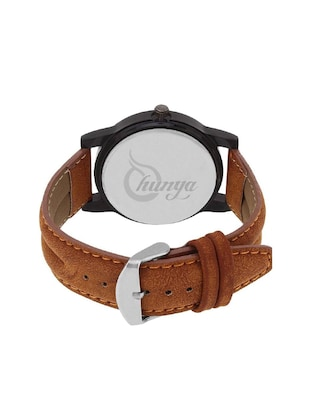 Shunya New Look Fashionable Stylish Leather Men Watch Watch - For Men - 15128198 - Standard Image - 3