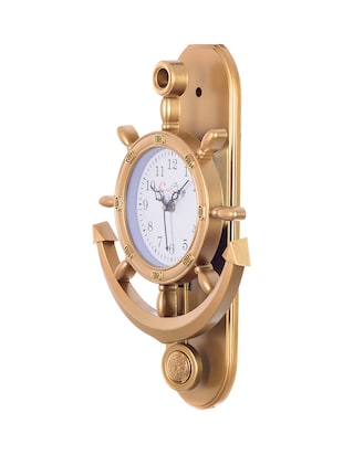 Decorative Retro Anchor Golden Pendulum Wall Clock - 15148932 - Standard Image - 3