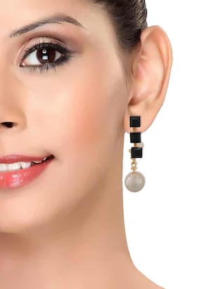 Drop earrings - 15167409 - Standard Image - 3