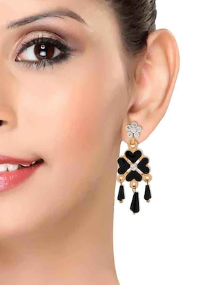 Drop earrings - 15167451 - Standard Image - 3