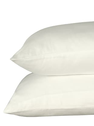 300 TC 100% Cotton Sateen Solid Pair Of Large Size Pillow Covers - 15170258 - Standard Image - 3