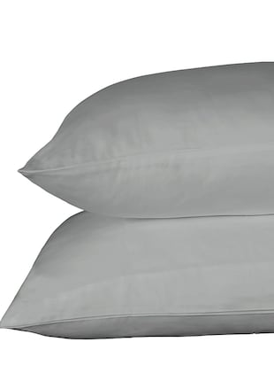 300 TC 100% Cotton Sateen Solid Queen Size Duvet Cover - 15171282 - Standard Image - 3