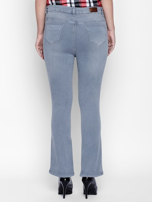 grey denim jeans - 15175401 - Standard Image - 3