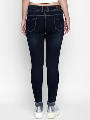 dark blue denim jeans - 15175424 - Standard Image - 3