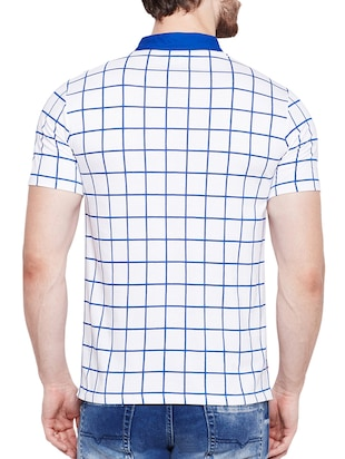 white cotton pocket t-shirt - 15178461 - Standard Image - 3