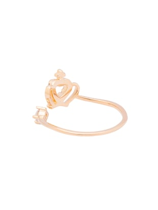 gold metal ring - 15179779 - Standard Image - 3