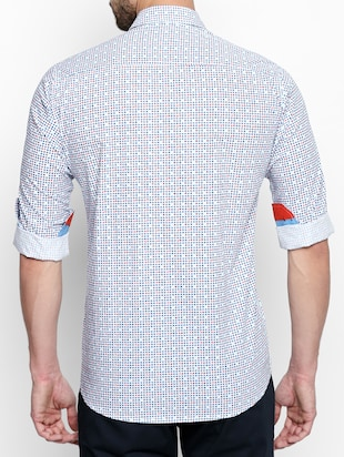 multi cotton casual shirt - 15180291 - Standard Image - 3