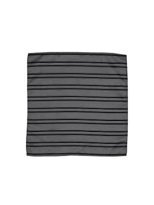greyblack polyester pocketsquare - 15183705 - Standard Image - 3