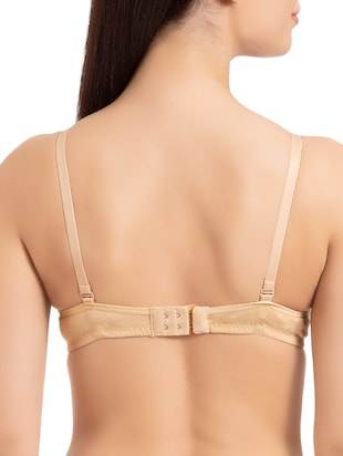 set of 2 beige solid bras - 15186557 - Standard Image - 3