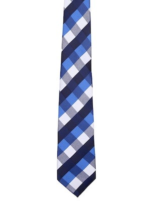 multi colored satin tie - 15190423 - Standard Image - 3