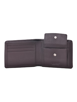 brown leatherette wallet - 15190966 - Standard Image - 3