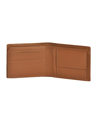 brown leatherette wallet - 15190978 - Standard Image - 3