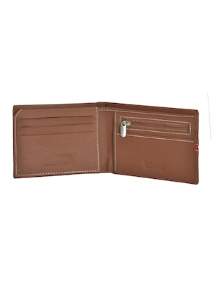 brown leatherette wallet - 15190993 - Standard Image - 3