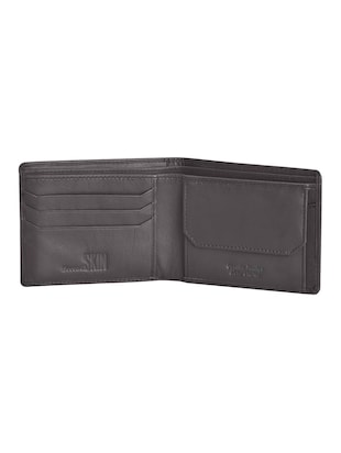 brown leatherette wallet - 15191005 - Standard Image - 3