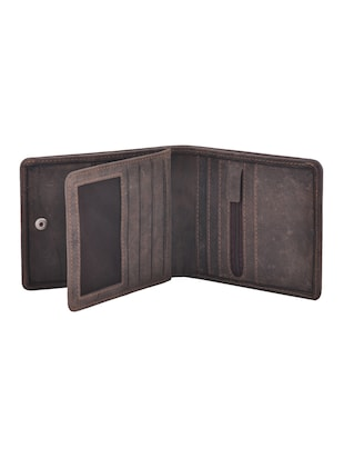 grey leatherette wallet - 15191035 - Standard Image - 3