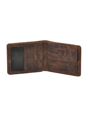 brown leatherette wallet - 15191048 - Standard Image - 3