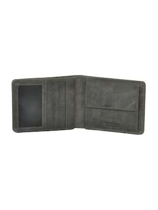 grey leatherette wallet - 15191050 - Standard Image - 3