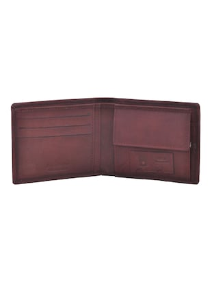 brown leatherette wallet - 15191060 - Standard Image - 3