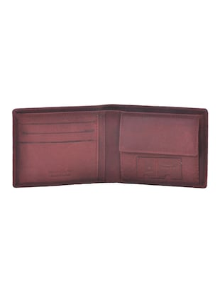 brown leatherette wallet - 15191063 - Standard Image - 3