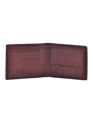 brown leatherette wallet - 15191078 - Standard Image - 3