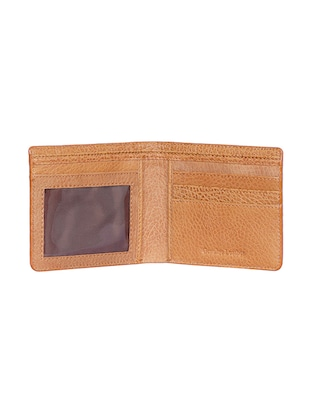 tan leather wallet - 15193524 - Standard Image - 3