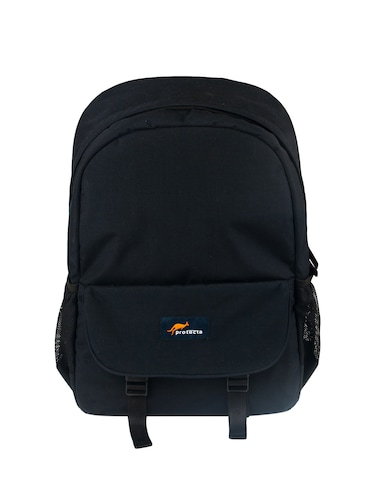 black polyester backpack - 15199418 - Standard Image - 1