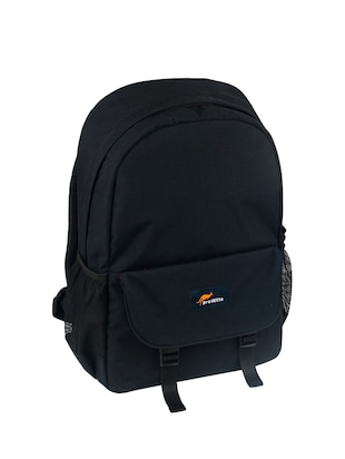 black polyester backpack - 15199418 - Standard Image - 3