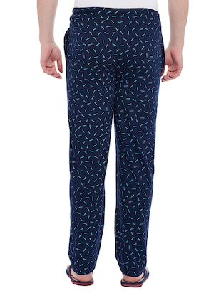 multi cotton  full length track pant - 15231833 - Standard Image - 3