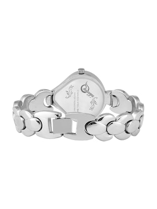 Shunya S-312 Silver Stylish Attractive Watch - For Women - 15239354 - Standard Image - 3