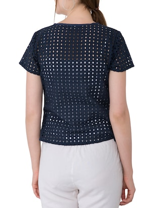 Cut work detail top - 15304815 - Standard Image - 3