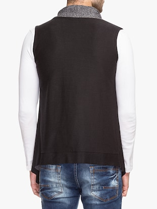 black cotton shrug - 15308204 - Standard Image - 3