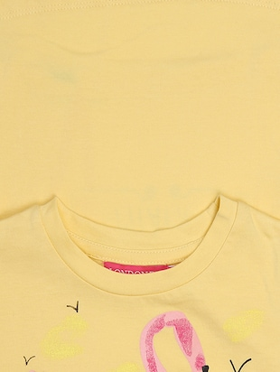 yellow cotton top - 15313385 - Standard Image - 3