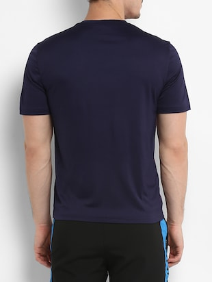 navy blue polyester tshirt - 15329372 - Standard Image - 3