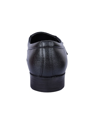 black Faux Leather slip ons - 15336138 - Standard Image - 3