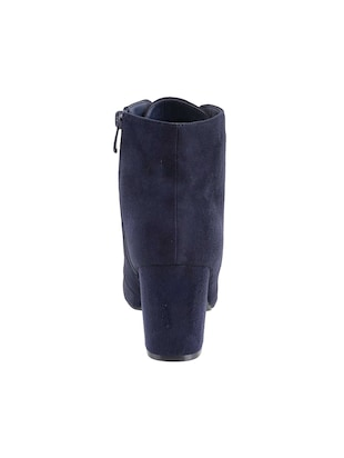 navy ankle  boot - 15339387 - Standard Image - 3