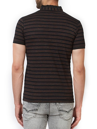 black cotton t-shirt - 15340252 - Standard Image - 3