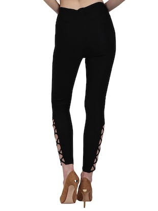 high waist criss-cross jegging - 15341003 - Standard Image - 3