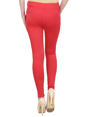 mid rise ankle length jeggings - 15341027 - Standard Image - 3