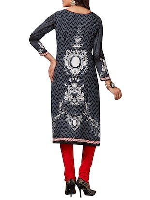 multi colored unstitched combo suit - 15344695 - Standard Image - 3